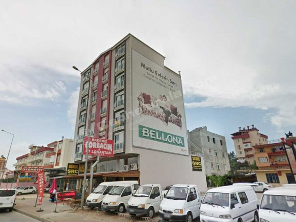 Antalya Manavgat Alanya Mersin Yolu Kiralık Reklam Cephesi